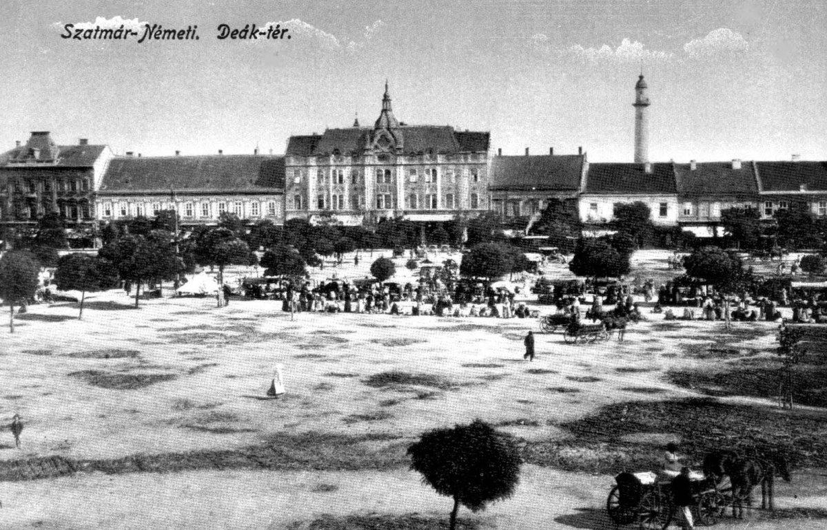 A szatmári központi park rövid története, értékei