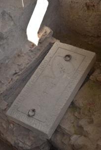 Budai Konrád és Anna sírköve