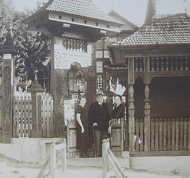 Bernády család Szovátán 1934_ben